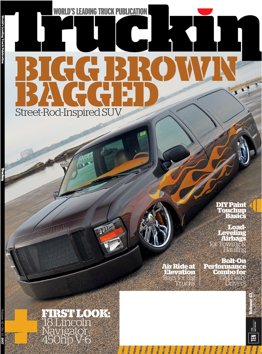 Truckin' Magazine October 2017 Cover